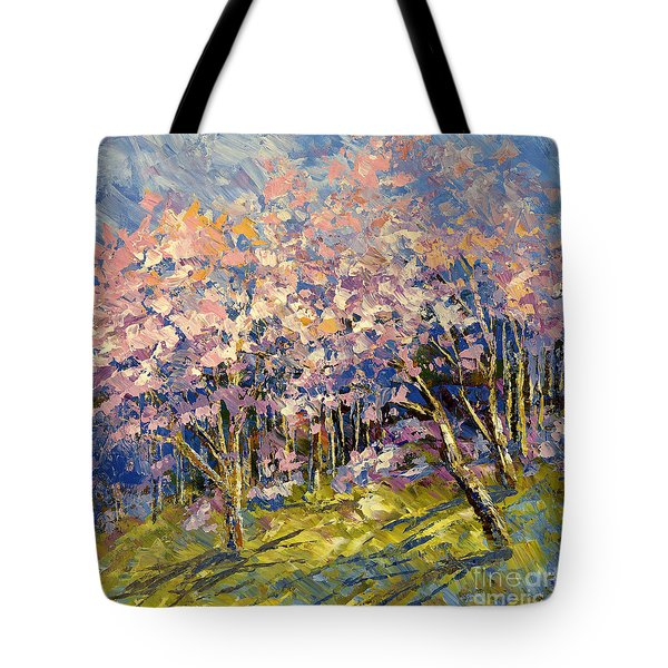 Scented Blooms Tote Bag