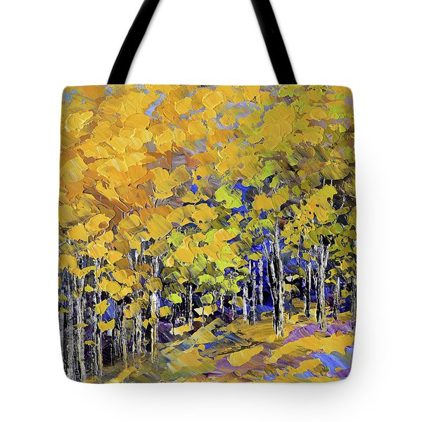 Scented Woods Tote Bag