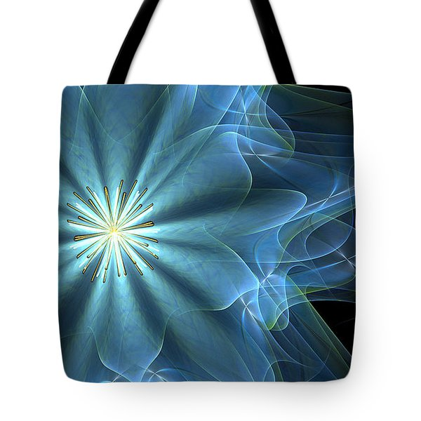 Tote Bag featuring the digital art Scenting The Winds by Linda Whiteside
