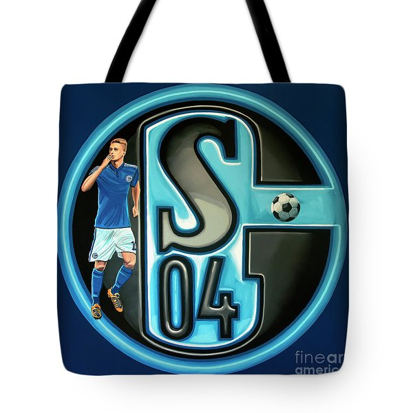 Schalke 04 Gelsenkirchen Painting Tote Bag