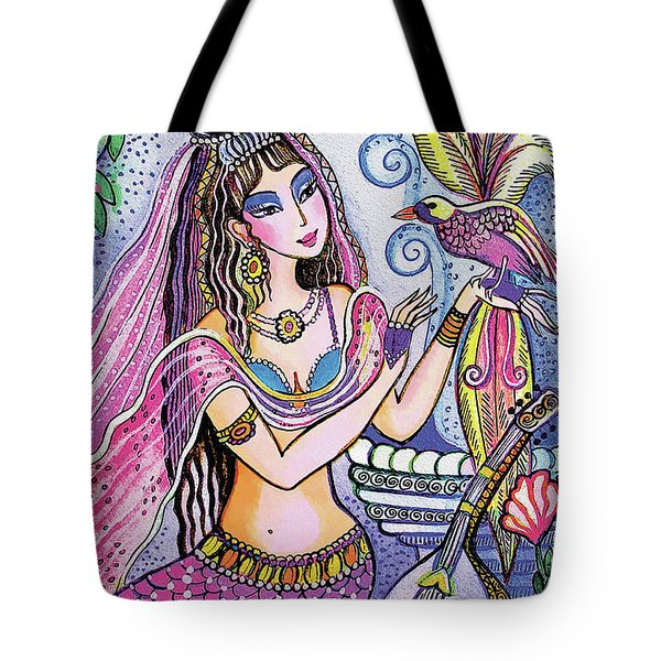 Scheherazade's Bird Tote Bag