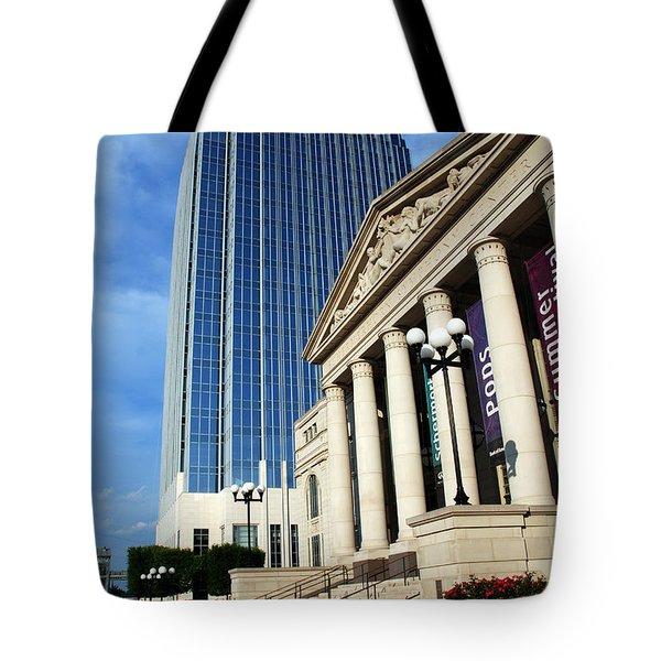 Schermerhorn Symphony Center Nashville Tote Bag by Susanne Van Hulst