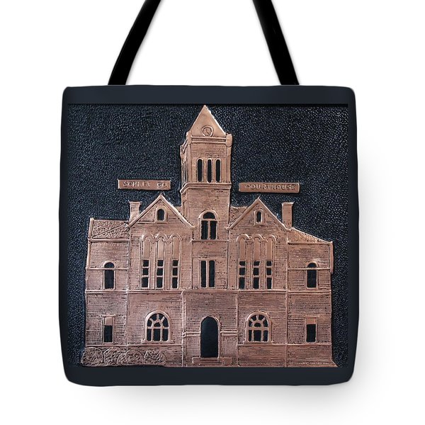 Schley County, Georgia Courthouse Tote Bag