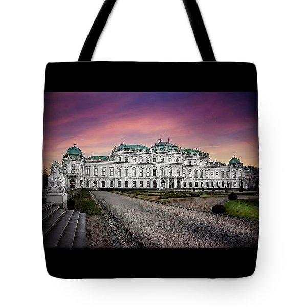 Schloss Belvedere Vienna Tote Bag