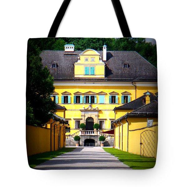 Schloss Hellbrunn Tote Bag by Carol Groenen