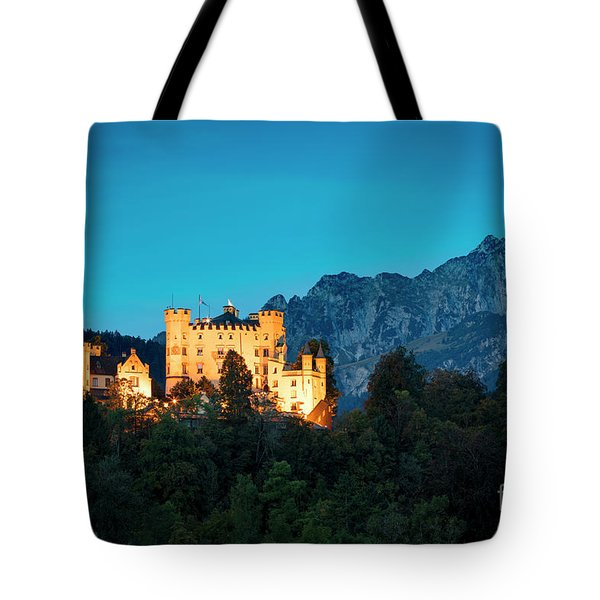 Tote Bag featuring the photograph Schloss Hohenschwangau by Brian Jannsen