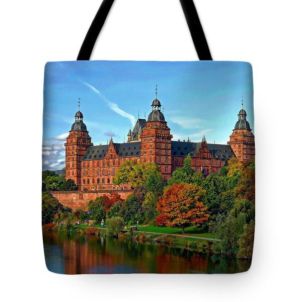 Schloss Johannisburg Tote Bag