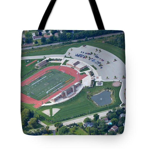 Tote Bag featuring the photograph Schneider Field 2 by Bill Lang