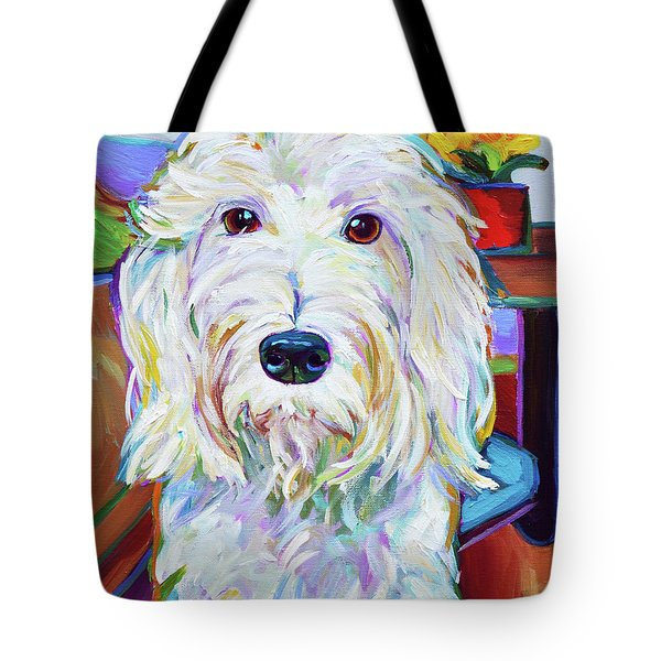 Schnoodle Tote Bag by Robert Phelps