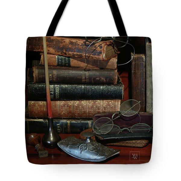 Scholar's Attic Tote Bag