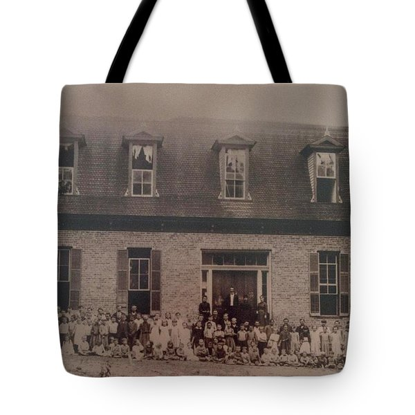 School 1895 Tote Bag