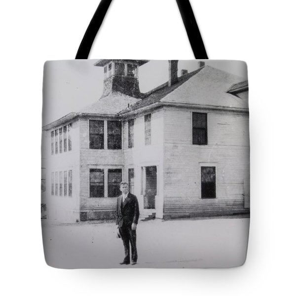 School 1901 Back Tote Bag