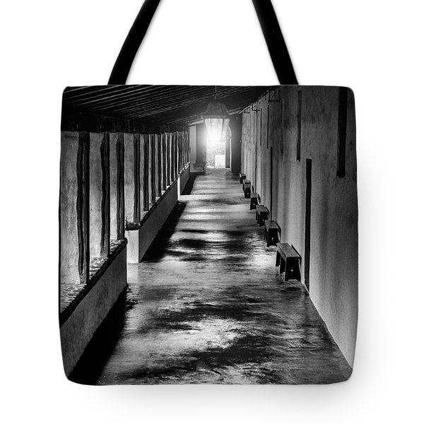 School At The Mission Tote Bag