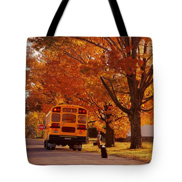Good Bye Friend I. Vermont Tote Bag