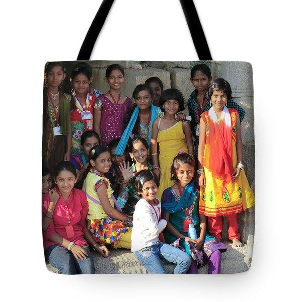 School Class Tote Bag
