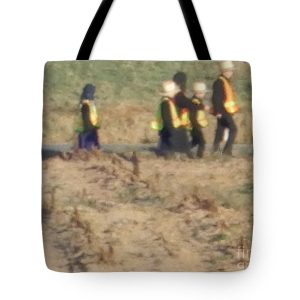 School Day Is Over Tote Bag