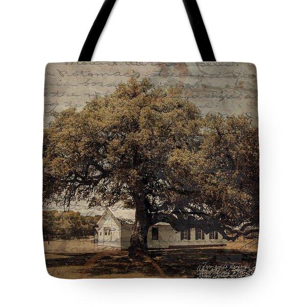 School Days Tote Bag by Nadine Berg