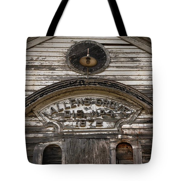 School Front Tote Bag by Ray Congrove