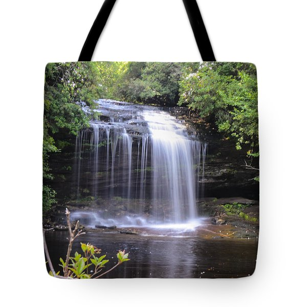 School House Falls Tote Bag
