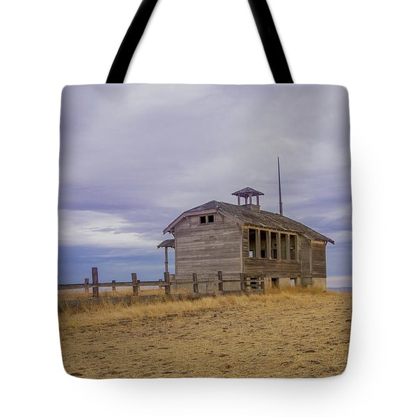 School House Tote Bag by Jean Noren