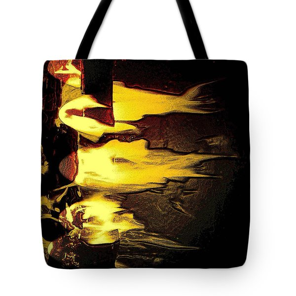 Tote Bag featuring the photograph School Of Fish by Steve Godleski