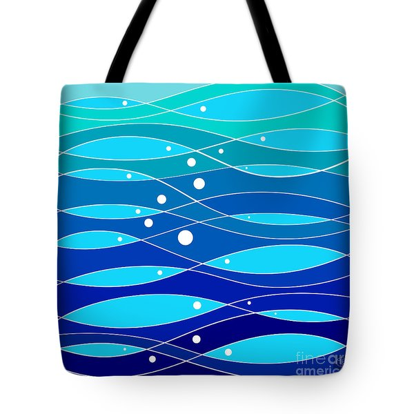 School Fish I Tote Bag