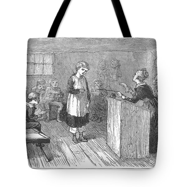 Schoolhouse, 1877 Tote Bag by Granger
