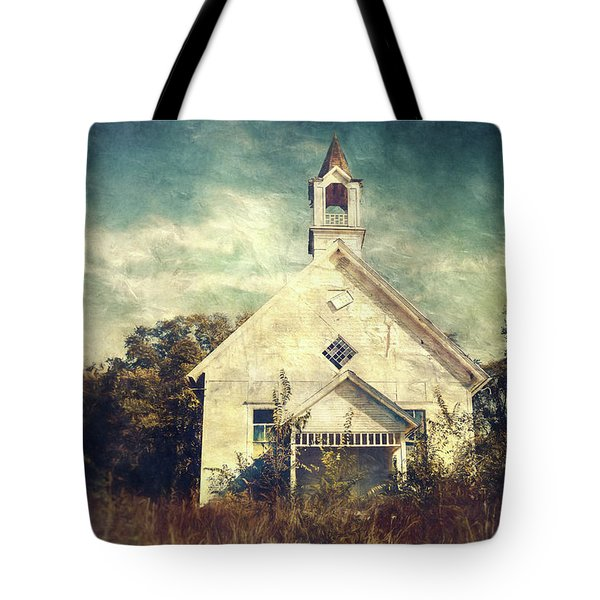 Schoolhouse 1895 Tote Bag