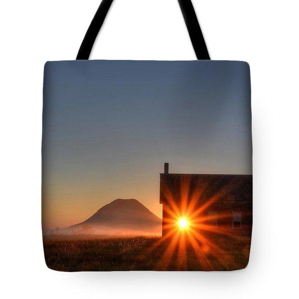 Schoolhouse Sunburst Tote Bag