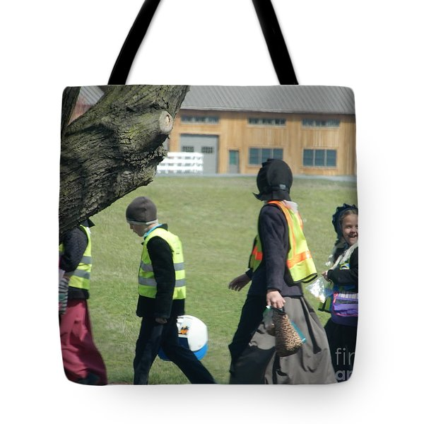 School's Out- Four Tote Bag
