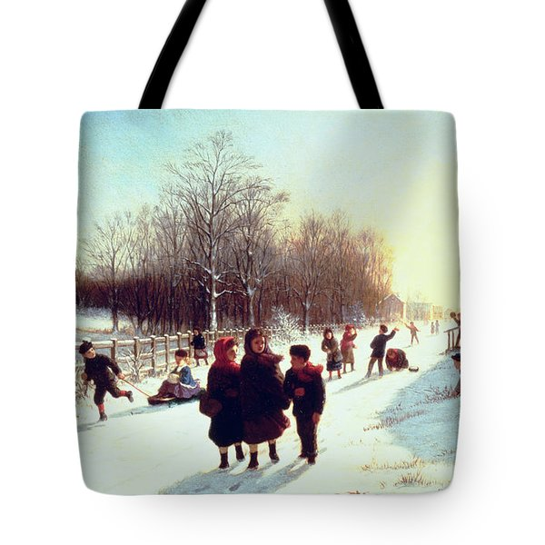 School's Out Tote Bag by Samuel S Carr