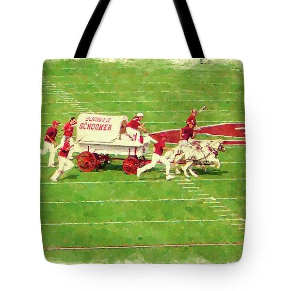 Schooner Celebration Tote Bag