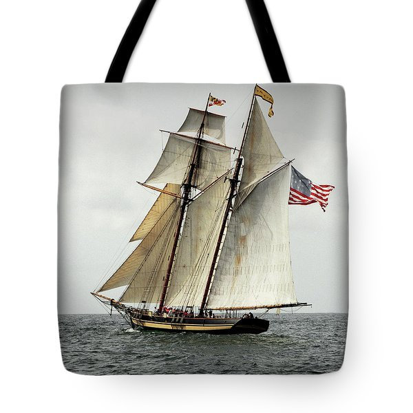 Schooner Pride Of Baltimore II Tote Bag