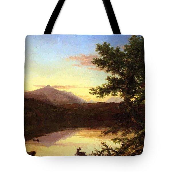 Schroon Lake 1840 Tote Bag