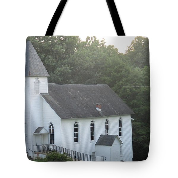 Schuyler Baptist Church Tote Bag