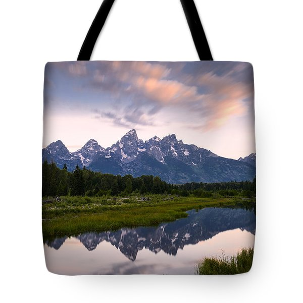 Schwabacher Landing In 60 Seconds Tote Bag