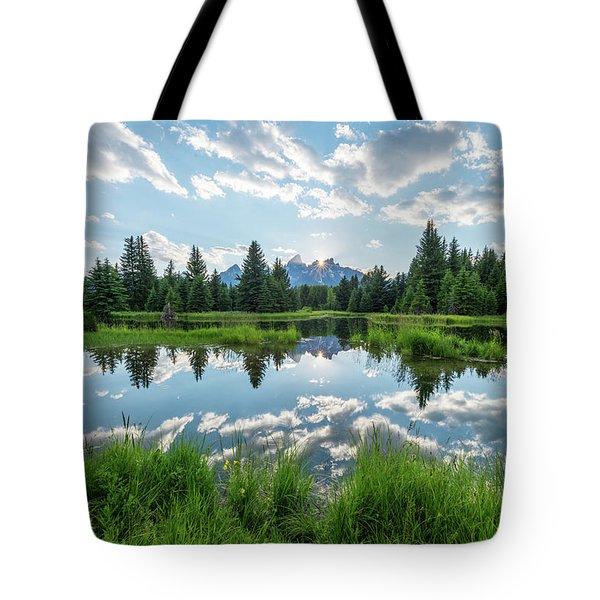 Schwabacher's Landing Tote Bag by Dustin LeFevre