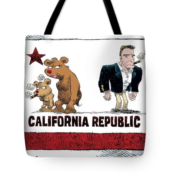 Schwarzenegger Love Child Flag Tote Bag