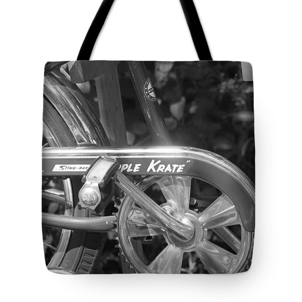 Schwinn Apple Krate Tote Bag by Lauri Novak
