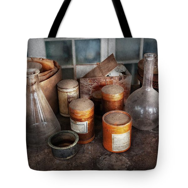 Science - Chemist - Ready To Experiment Tote Bag by Mike Savad