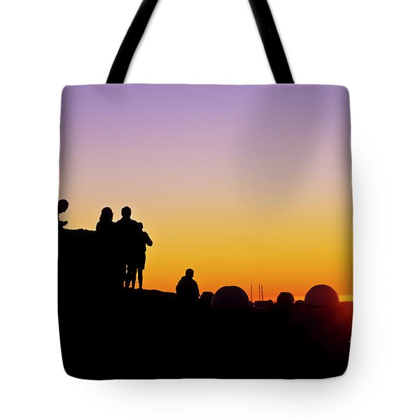 Science City Sunset II Tote Bag