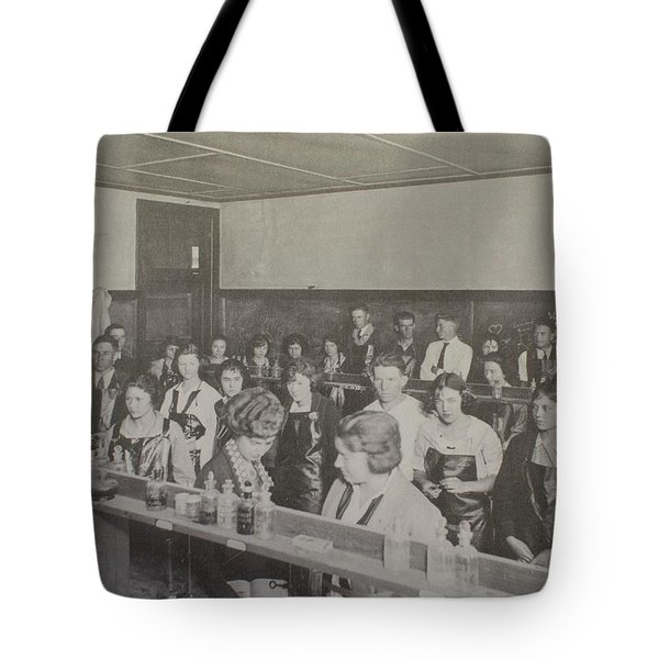Science Lab Tote Bag