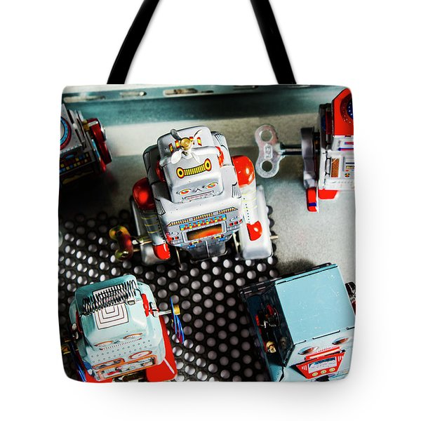 Science Of Automation Tote Bag