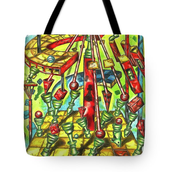 Science Of Chess Tote Bag