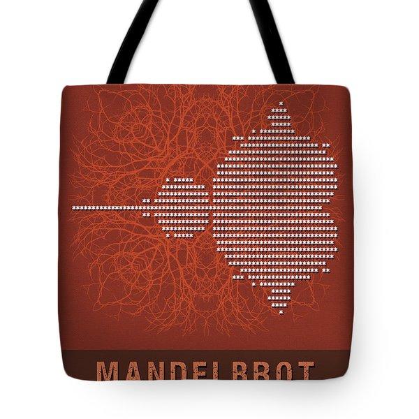 Science Posters - Benoit Mandelbrot - Mathematician Tote Bag