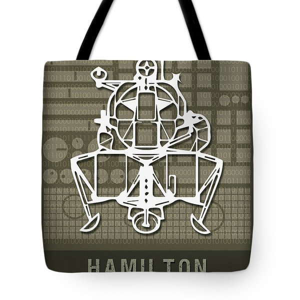 Science Posters - Margaret Hamilton, Computer Scientist, Engineer Tote Bag