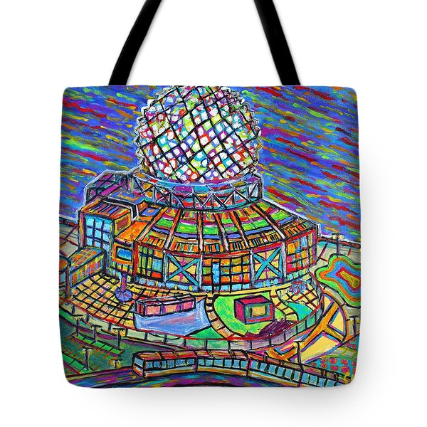 Science World, Vancouver, Alive In Color Tote Bag