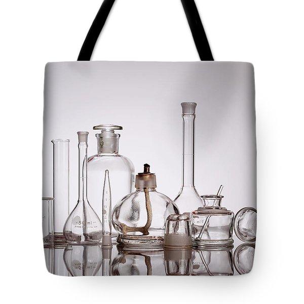 Scientific Glassware Tote Bag