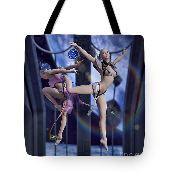 Scifi Ballet Tote Bag