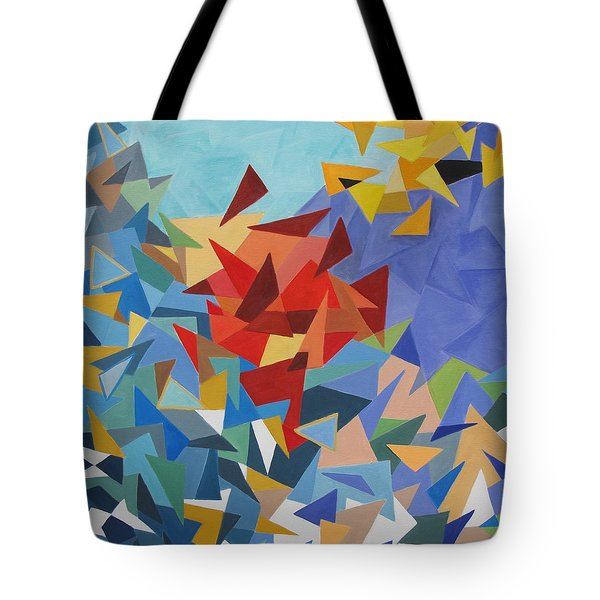 Scintillation Tote Bag by Trish Toro